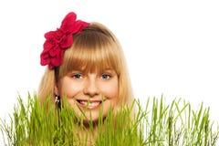 Blonder Frühlingsjunge Lizenzfreie Stockfotos