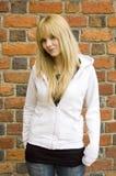Blonder, hübscher Jugendlicher Lizenzfreies Stockfoto