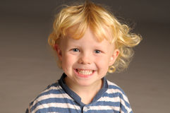 Blonder Junge Lizenzfreies Stockfoto