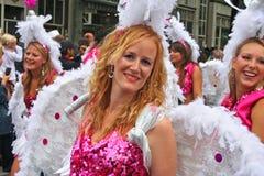 Blonder Karneval Lizenzfreies Stockfoto
