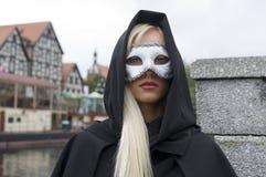 Blonder Karneval Lizenzfreie Stockfotografie