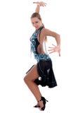 Blonder lateinischer Tänzer Stockbilder