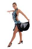 Blonder lateinischer Tänzer Lizenzfreie Stockfotografie