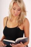 Blonder Mädchenmesswert Stockfotografie