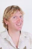 Blonder Mann. Lizenzfreie Stockfotos