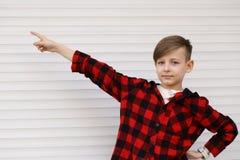 Blonder netter Junge Lizenzfreies Stockfoto