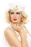 Blonder Seemann Lizenzfreies Stockbild