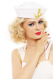 Blonder Seemann Lizenzfreie Stockbilder