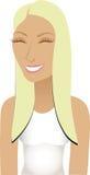 Blonder sportlicher Avatara Stockbilder