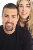 Blonder u. Latinomann Lizenzfreies Stockfoto