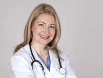 Weiblicher Doktor Lizenzfreie Stockbilder