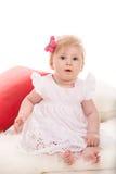 Blondes Baby der Schönheit Lizenzfreies Stockfoto