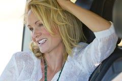 Blondes Baumuster in der Wüste Lizenzfreie Stockfotografie
