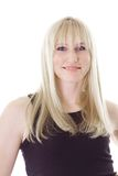 Blondes behaartes Mädchen Lizenzfreies Stockbild