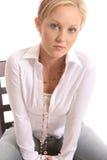 Blondes chair3 Lizenzfreie Stockfotografie