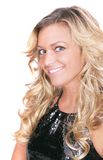 Blondes Frau headshot Lizenzfreies Stockbild