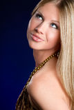 Blondes Frauen-Portrait Stockbild