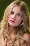 Blondes Frauen-Portrait Stockbilder
