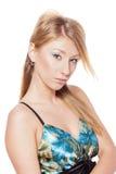 Blondes Frauen-Portrait Lizenzfreies Stockfoto