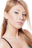 Blondes Frauen-Portrait Lizenzfreie Stockbilder