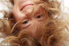 Blondes Frauenportrait Lizenzfreie Stockfotos