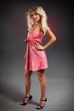 Blondes Frauenportrait Lizenzfreies Stockfoto