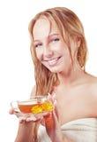 Blondes gir Lizenzfreies Stockfoto