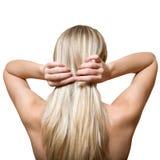 Blondes Haar Stockbilder