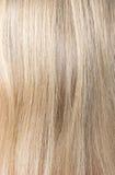 Blondes Haar der schönen Frau Lizenzfreie Stockfotografie