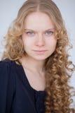 Blondes Haar des Porträts Lizenzfreie Stockbilder