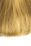 Blondes Haar getrennt Stockfotos