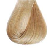 Blondes Haar lokalisiert Lizenzfreies Stockfoto