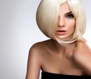 Blondes Haar. Qualitätsbild. Stockfotografie