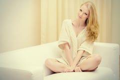 Blondes Haus Lizenzfreie Stockfotografie