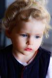 Blondes herrliches Baby Lizenzfreie Stockfotos