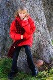 Blondes jugendliches Mädchen Lizenzfreies Stockbild