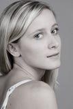 Blondes Jugendlichportrait Lizenzfreie Stockfotos