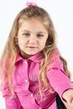 Blondes kleines Mädchen Stockfotografie