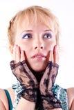 Blondes Mädchen Lizenzfreie Stockbilder