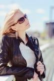 Blondes Mädchen Lizenzfreie Stockfotografie