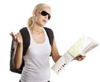 Blondes Mädchen in den Ferien Lizenzfreie Stockfotografie
