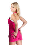 Blondes Portrait. Stockfoto