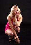 Blondes Portrait. Stockbild