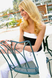 Blondes Portrait Lizenzfreie Stockbilder