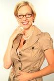 Blondes Portrait Lizenzfreie Stockfotos