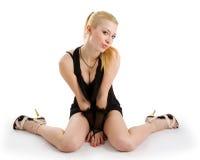 Blondes Portrait Stockbild