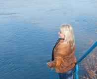 Blondes russisches Mädchen Lizenzfreie Stockfotografie
