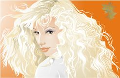 Blondi2 Stock Images