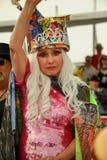 Blondie女王德伯哈里讲露面在第35次每年美人鱼游行 免版税库存图片