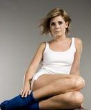 blondie κορίτσι Στοκ φωτογραφίες με δικαίωμα ελεύθερης χρήσης